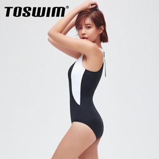 TOSWIM 拓胜 TS81050898 女士连体泳衣
