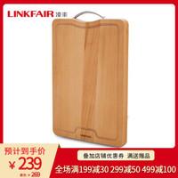LINKFAIR 凌丰 LFCB-GB40 乌檀木实木菜板 40*30*3cm