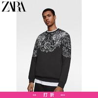 ZARA 00495415800 男士印花卫衣