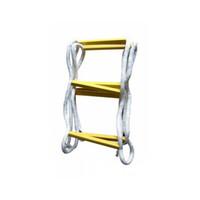 先锋连 软梯绳梯逃生梯折叠梯 救生救援消防绳梯高空梯子 训练软梯子攀登绳梯 工程安全绳梯 1米(5米起售)