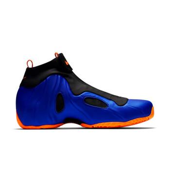 NIKE 耐克 Air Flightposite系列  男士运动鞋 AO9378-40 黑/橘/蓝 46