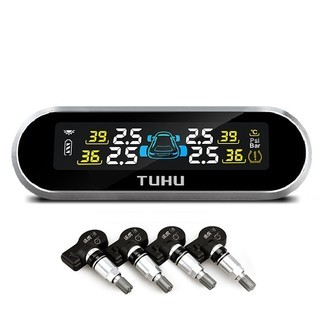 TUHU 途虎 steelmate 铁将军 途虎定制 TT3 无线内置太阳能 胎压监测