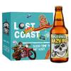 LOST COAST 迷失海岸 幽灵浑浊IPA啤酒 355ml*6瓶