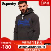 Superdry 极度干燥 SM20004NSK3 男士连帽加绒卫衣