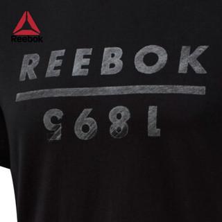 Reebok 锐步 GS Reebok 1895 FLH22 男子短袖T恤