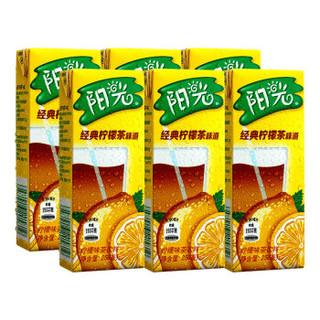 可口可乐 Coca-Cola 阳光柠檬茶纸包250ml*6 (6连包) 可口可乐公司出品