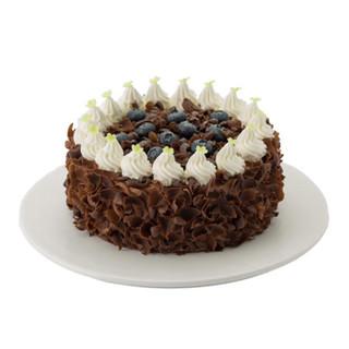 好利来 黑森林 生日蛋糕 黑樱桃草莓 天津、大连、成都 直径15cm提前24小时预订