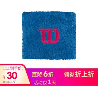 威尔胜 Wilson WR5602015 专业网球配件 吸汗棉质护腕 护腕运动护具
