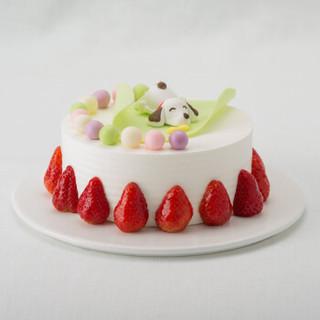 好利来 快乐时光 生日蛋糕 酸奶提子 限天津、沈阳、大连、成都订购 直径15cm