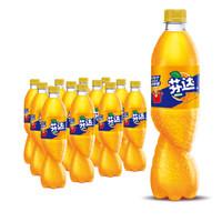 芬达 Fanta 橙味 汽水 碳酸饮料 600ml*24瓶  *4件