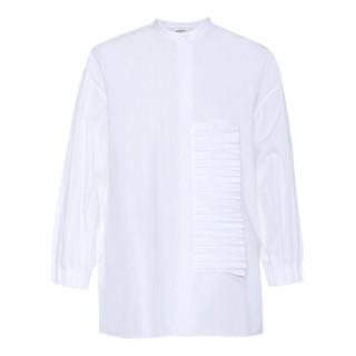 女士休闲衬衫 白色