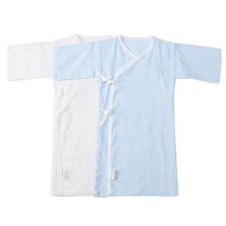 PurCotton 全棉时代 纯棉纱布婴儿服 短款2盒+棉袜3双