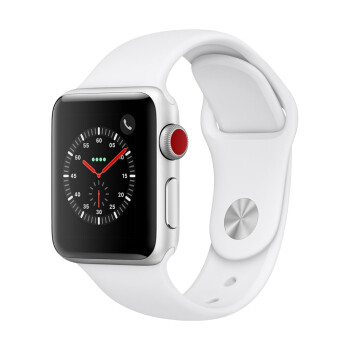 PLUS会员:Apple 苹果 Watch Series 3 智能手表 GPS款 38毫米 运动型表带