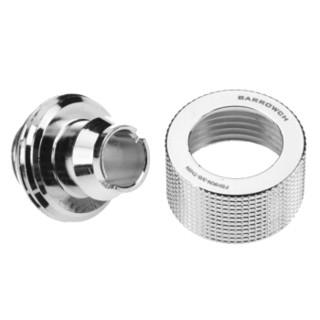 BARROWCH 水冷配件 薄管用手拧接头 FBHKN-3/8-THIN 银色