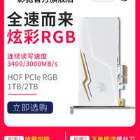 GALAPAD 影驰 HOF PCle 固态硬盘 (1TB、PCI-E)