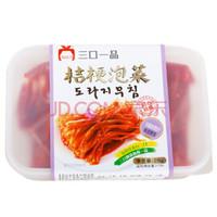 三口一品 韩国风味泡菜 盒装桔梗泡菜 215g/盒 家庭装