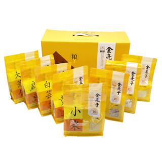 金亮子(Jinliangzi)有机五谷杂粮礼盒 8袋装杂粮礼盒