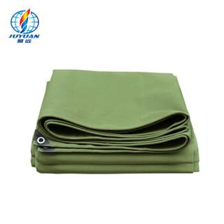 聚远 JUYUAN 10*12米 棉篷布 帆布帐篷 帆布篷布 防水绵帆布 军绿篷布