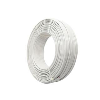 盛佳 SHENGJIA 铜芯聚氯乙烯绝缘聚氯乙烯护套软线 RVV2*4平方毫米 电线电缆 国标 纯铜 白色