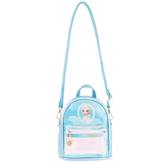 DISNEY迪士尼儿童包包 女童时尚炫彩双肩包手提包卡通幼儿包女孩礼物 DR2F015-2冰雪奇缘蓝色