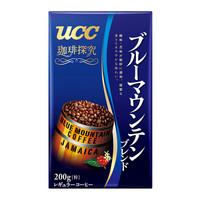 日本进口 UCC(悠诗诗) 咖啡探究系列 蓝山混合咖啡粉 200g/袋