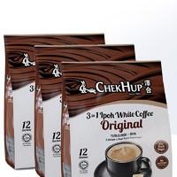 ChekHup 泽合 原味三合一速溶泽合怡保白咖啡粉  480g*3袋装