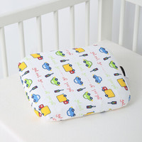 SHERWOOD/喜屋 婴幼儿乳胶枕头  彩色汽车 30X25.5X2.5CM