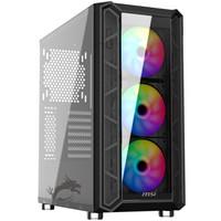 粉丝价:MSI 微星 黑镜 PAG PYLON 100R 中塔电脑机箱
