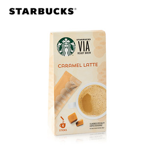 STARBUCKS 星巴克 VIA免煮咖啡 焦糖拿铁风味 4支装