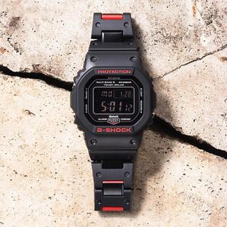 CASIO 卡西欧 G-SHOCK系列 GW-B5600HR-1PR 男士石英手表
