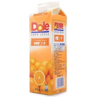 Dole 都乐 鲜橙原汁 1L