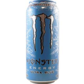 Monster Energy 鬼爪 Ultra Blue 蓝系 功能饮料 473ml