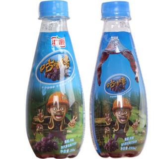 Huiyuan 汇源 咕噜噜 加汽复合果汁饮料 葡萄+苹果味 250ml*5瓶