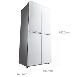 Midea 美的 BCD-401TGEM(E) 十字对开冰箱 401升