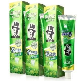 DARLIE 黑人 茶倍健牙膏 绿茶 (140g*3)