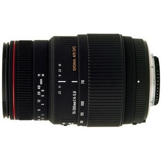 Sigma 适马 AF APO 70-300mm F/4-5.6 DG MACRO 远摄变焦镜头 佳能卡口