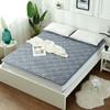 简丽(janlee)榻榻米床垫子防滑学生宿舍可折叠单人保暖加厚床褥子垫被 1.2米床 条纹