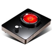 红日(RedSun)红外线灶 燃气灶 煤气灶单灶 天然气灶 液化气灶 台式燃气灶JZT-ED009B高端升级(天然气)