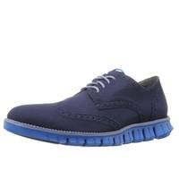 COLE HAAN 男士 ZeroGrand 男士休闲鞋 Blazer Blue Cruz US7