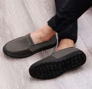 鮟鱇 休闲鞋网鞋中老年爸爸鞋老北京布鞋网面透气男鞋AK50018 驼色 38