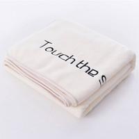 锦棉时光 浴巾 豆花白 70*140cm *2件 +凑单品