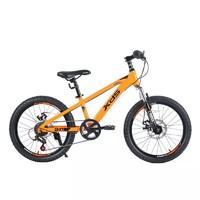 喜德盛 中国风 儿童自行车 20寸 橙色
