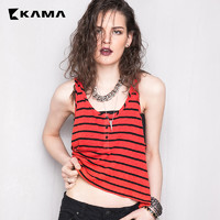 KAMA 7217952 女士无袖吊带衫