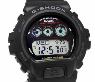 CASIO 卡西欧 G-SHOCK GW6900 男士光动能6局电波表