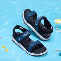 骆驼 CAMEL童鞋 儿童运动凉鞋软底中大童凉鞋 A9280200573 黑色/蓝色 29