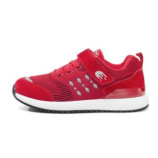 动力步 老人鞋男女安全防滑运动缓震休闲散步软底爸爸妈妈 DonLiBO D8851001 红色(女款) 38