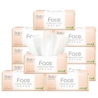 C&S 洁柔 Face系列 抽纸 3层100抽10包(195*133mm)