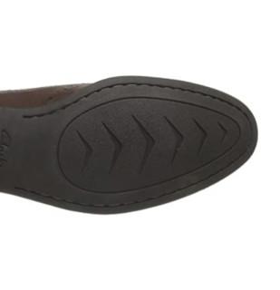 Clarks Chart Limit 男款雕花皮鞋 Brown Leather UK6