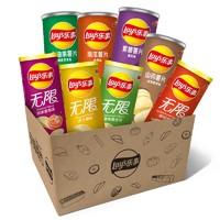 Lay's 乐事 音响礼盒 薯片组合装 8口味 776g