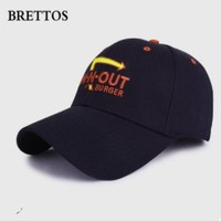 BRETTOS 男女刺绣棒球帽